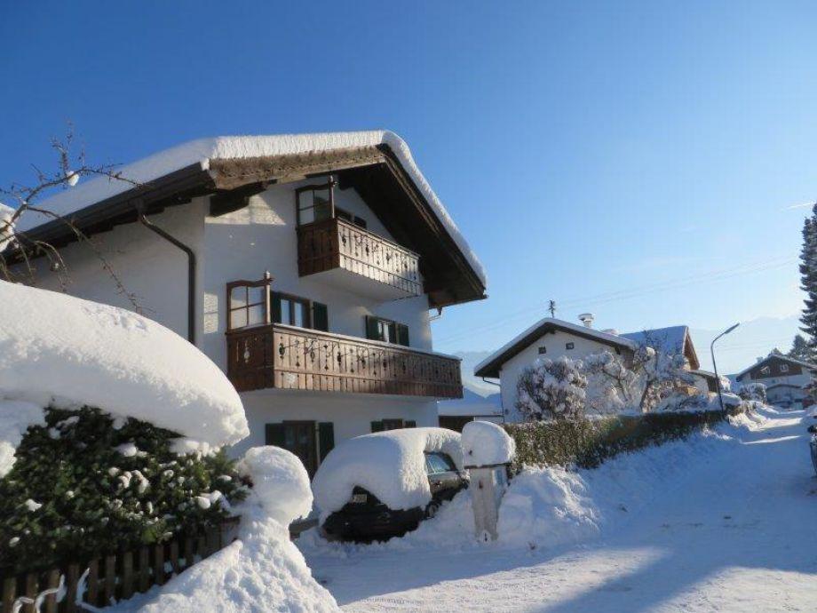 Haus Kefer-Maier im Winter