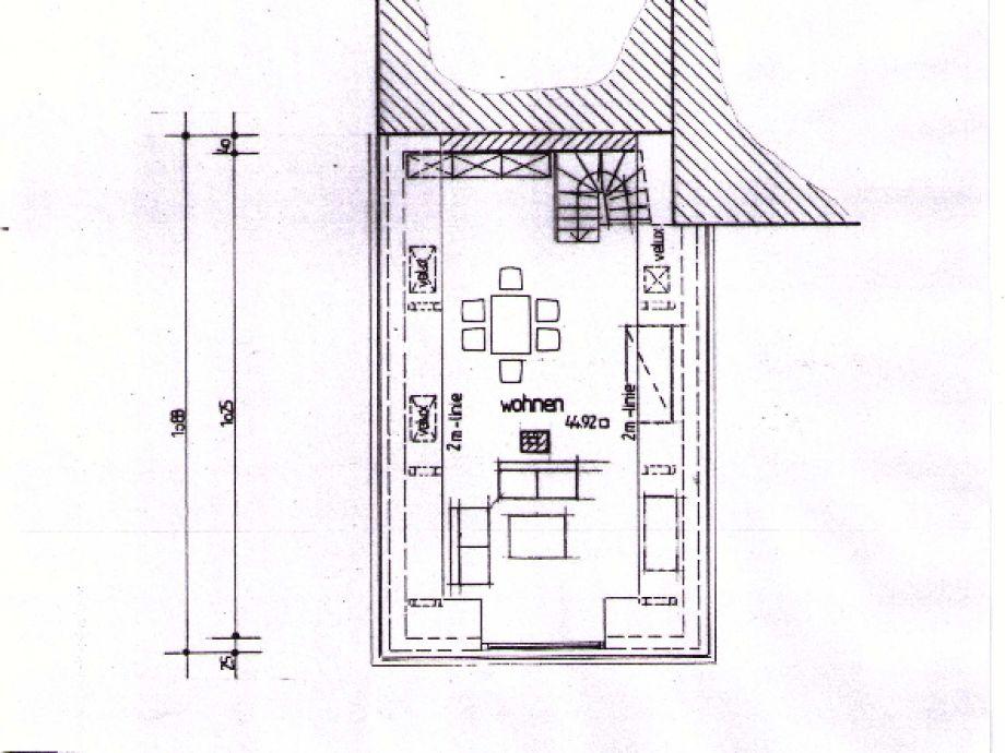 Grundriss Wohn Esszimmer