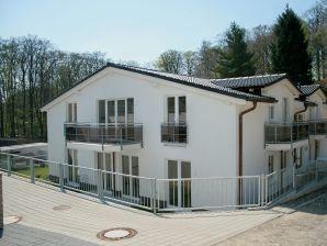 Ferienwohnung Residenz Falkenberg Wohnung 07 Strandkorb mit Balkon