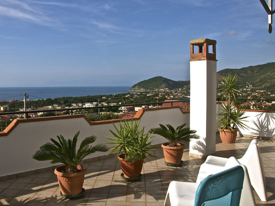 Casa Nina - view from the roof terrace