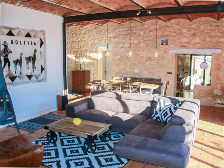 Landhaus mas de l 39 esquirou provence der r mer gard for Wohnzimmer 4m