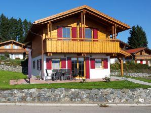 Ferienhaus Alpensee mit Sauna