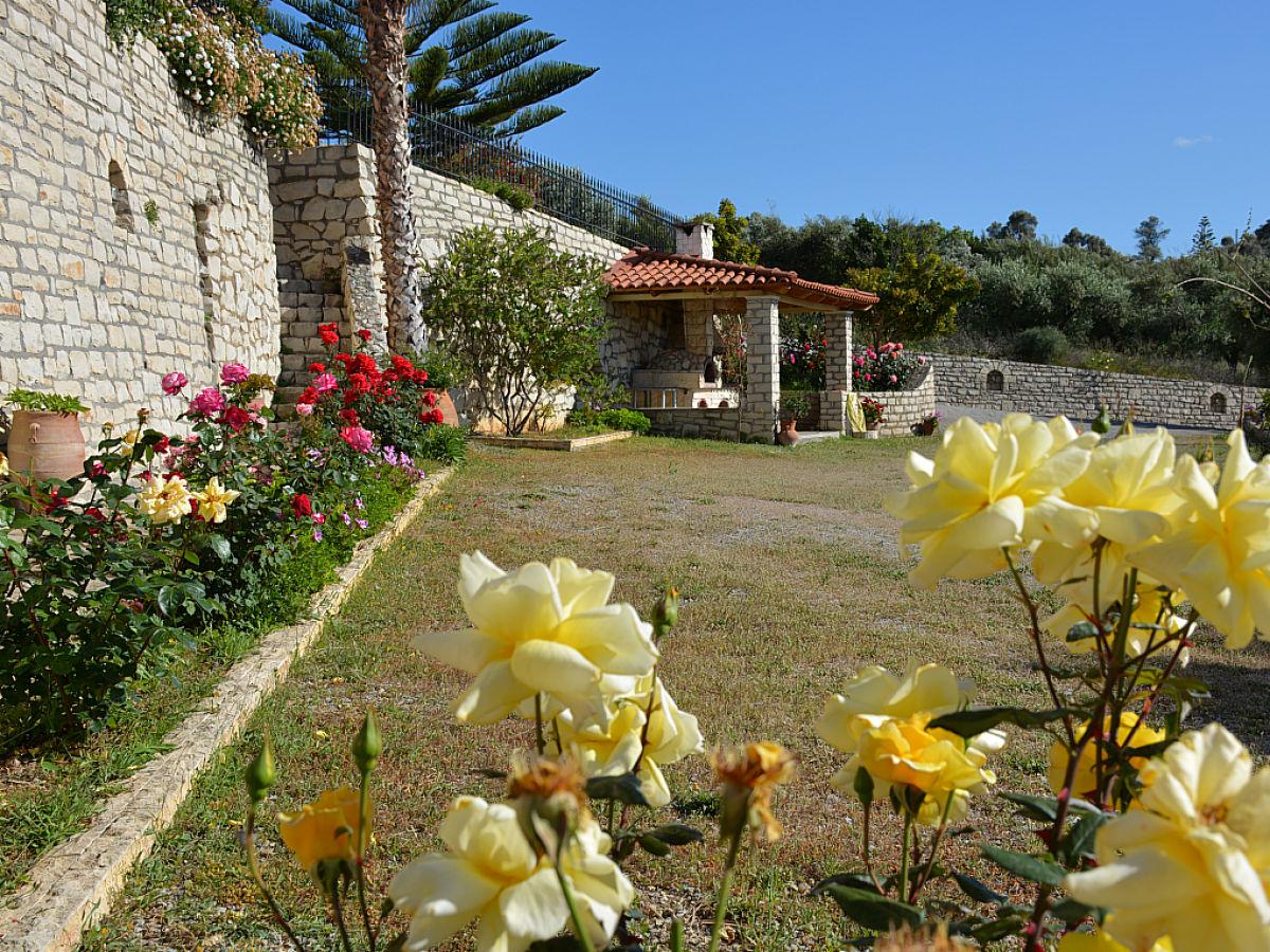 Ferienhaus pelagias garden i ii prinos kreta firma pelagia 39 s garden i ii pelagia 39 s garden i ii - Steinofen garten ...