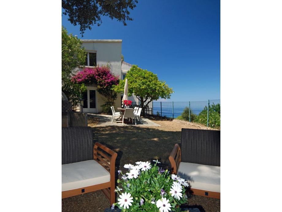 Villa l\'Olivier, Korsika, Frankreich - Firma Korsika-Ferienwohnungen ...