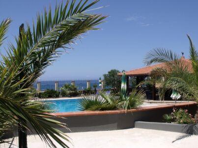Nr. 3 in der Residence Valentina in Balestrate mit Pool am Meer