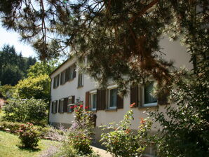 Holiday apartment Weiherweg