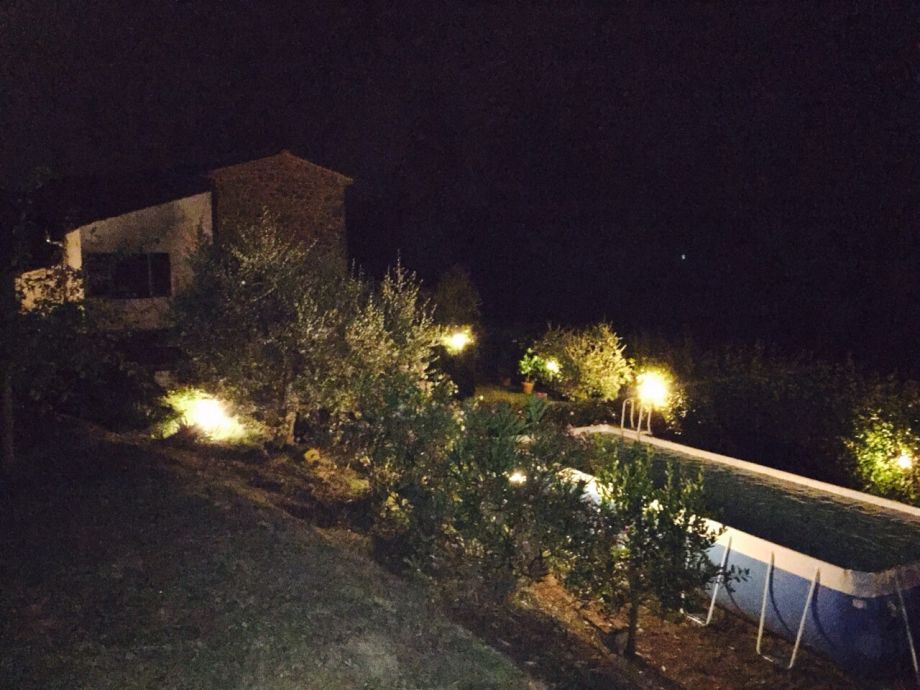 Villa Daniela by night