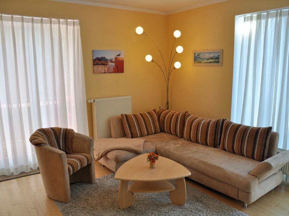 Ferienwohnung undine nr 5 ostsee firma immobilien - Traum wohnzimmer ...