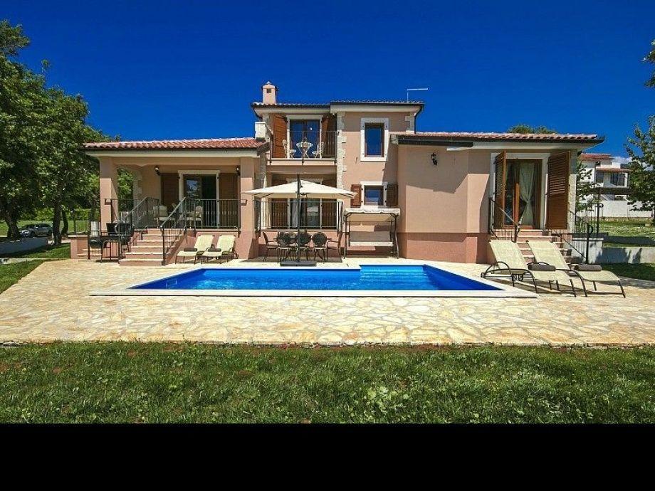 Außenaufnahme Villa Anteva
