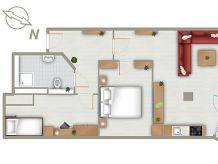 Ferienwohnung Kurpark-Residenz App. 242