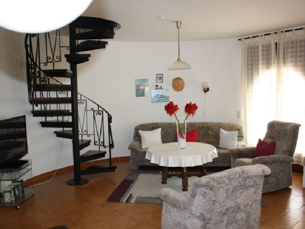 Kanal Mit Bootsliegeplatz Wohnzimmer Couch Und Sesseln SATTV Nur