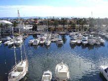 Ferienwohnung Studio Port Grec mit Blick auf den Hafen