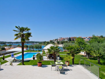 Villa Contessa direkt am Strand