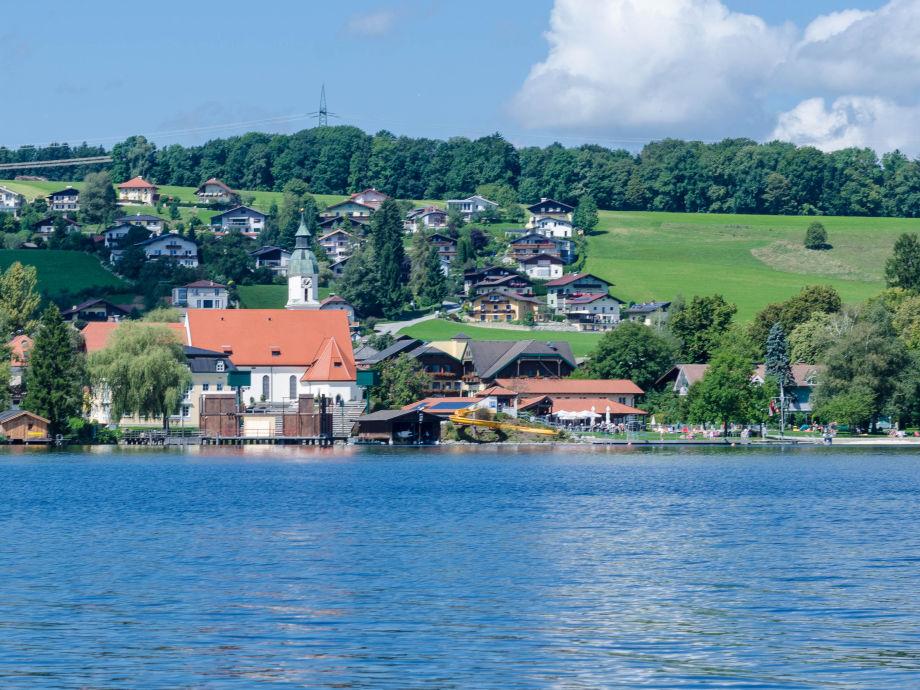 Seeham vom Obertrumer See aus gesehen