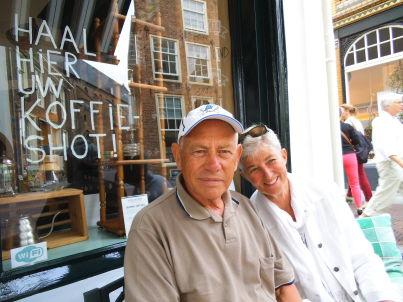 Ihr Gastgeber Arie und Willie Portengen
