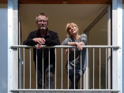 Ihr Gastgeber Bodo Plewe und Elke Frey