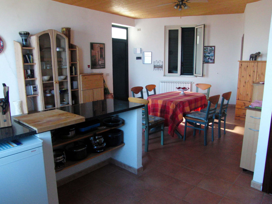 Ferienwohnung Haus Galbato Obergeschoss, Messina, Gioiosa Marea ...