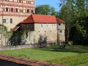 Ferienwohnung Burghäuschen Wasserschloss Unsleben