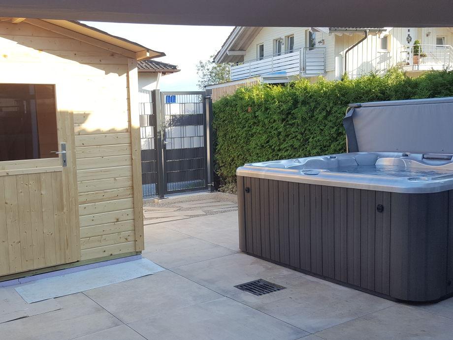 Ferienhaus andrea chiemsee frau andrea kehrle - Sauna whirlpool ...