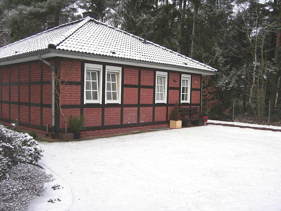 Ferienhaus Schenck im Winter