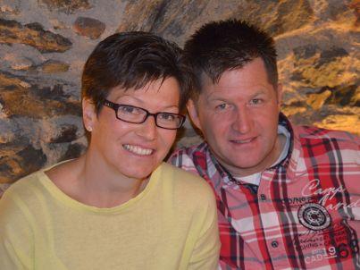Ihr Gastgeber Renate und Andreas Fliri