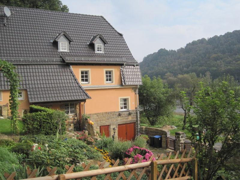 Ferienwohnung Haus an der Elbe