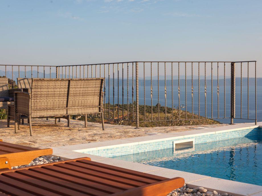 View at pool