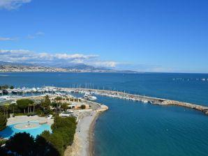 Ferienwohnung Marina Baie des Anges - Sensationeller Blick