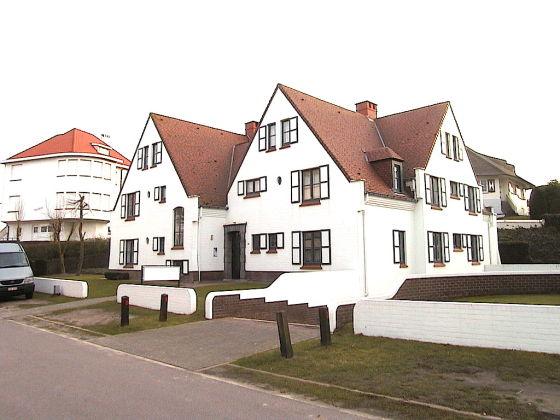 Ferienwohnung maison blanche b belgische k ste for B b maison rabelais de haan