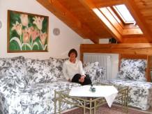 Ferienwohnung Exklusives Dachstudio im Landhausstil
