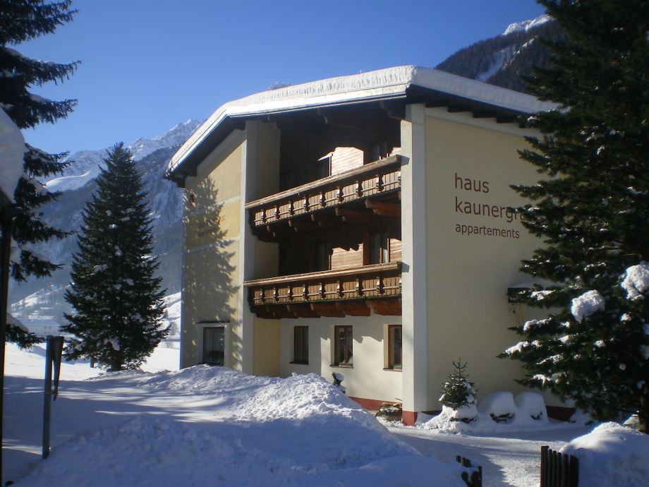 Haus Kaunergrat, Winter