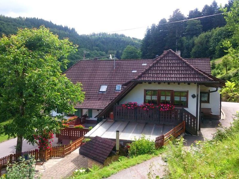 Ferienwohnung Balkonblick Wälderhof