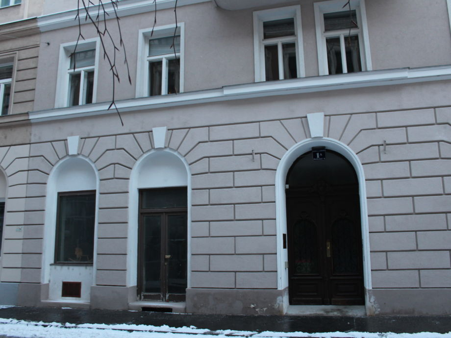 exterior view of the house