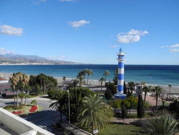 Komfort-Ferienwohnung direkt am Strand