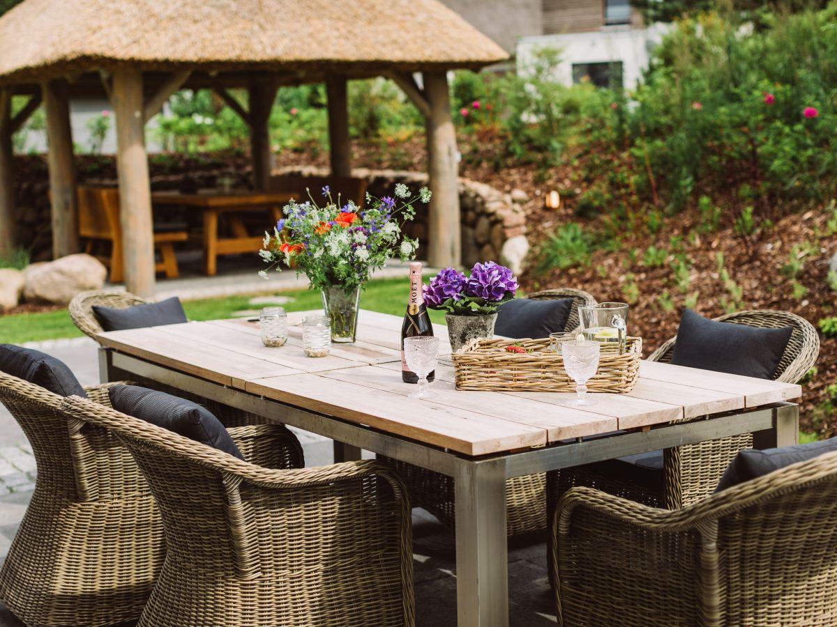 5 luxusferienhaus au en whirlpool usedom nord karlshagen frau kerstin wichmann - Garten mit pavillon ...