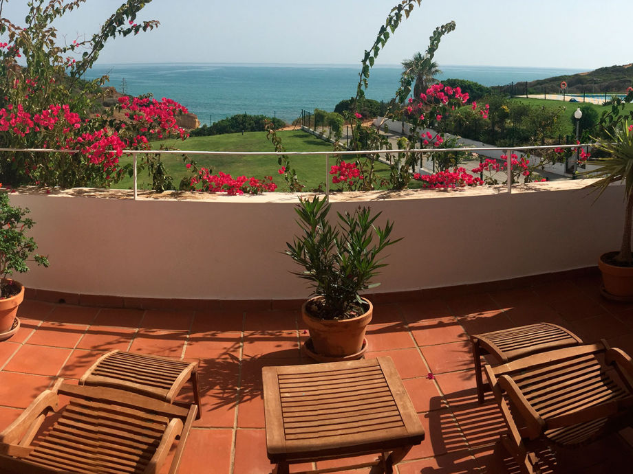Views from the terrace to the sea
