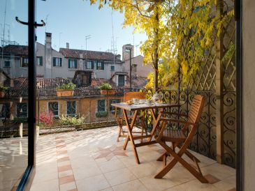 Holiday apartment San Giacomo - Terrazza
