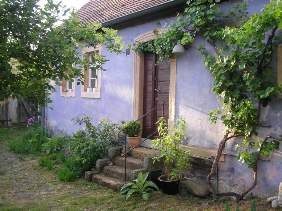 """""""Das Blaue Haus""""in der Hofanlage"""