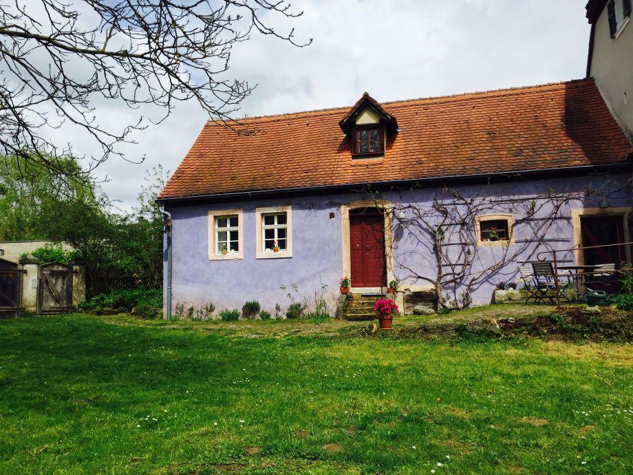 Außenaufnahme Das Blaue Haus