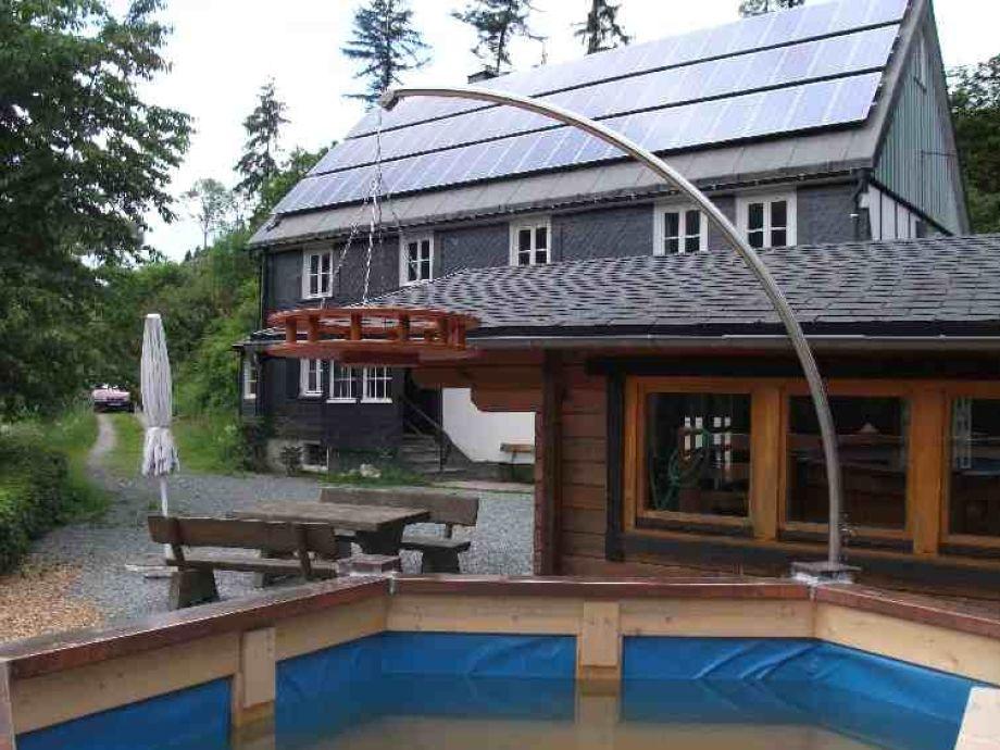 Die Villa m. Hot Pott u. Grillhütte