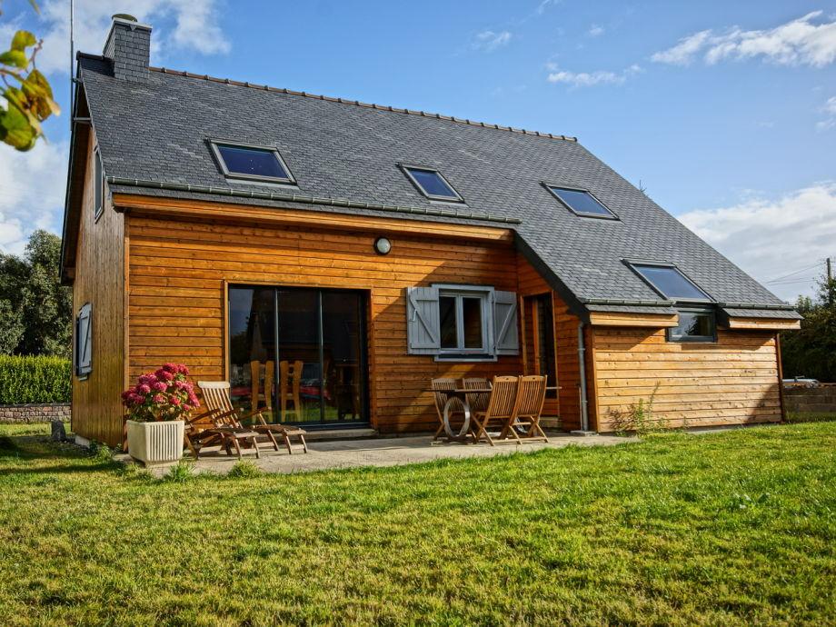 Das Haus und seine Terrasse