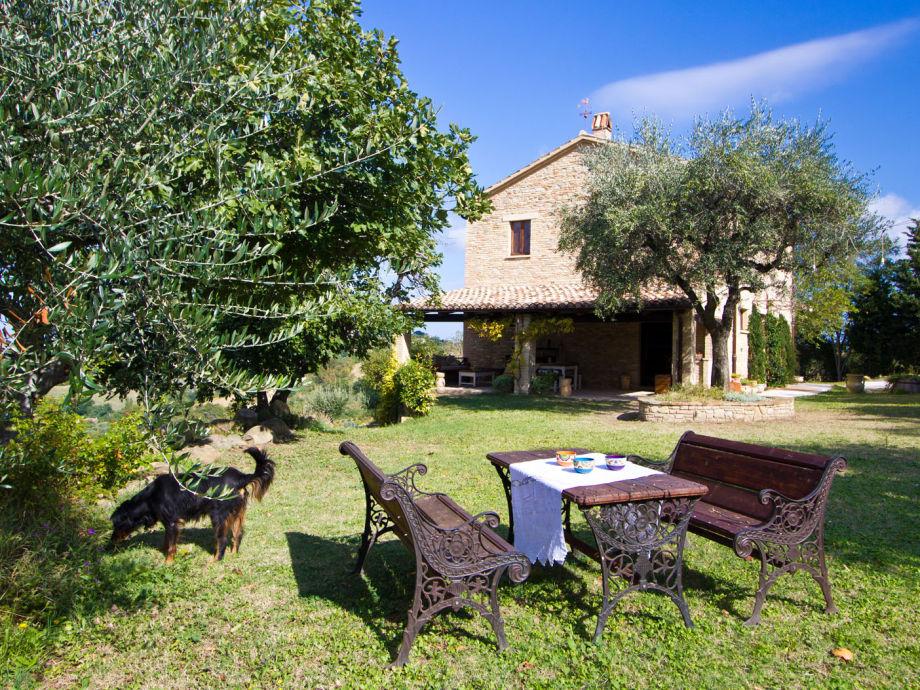 Casa Celeste - house view from garden