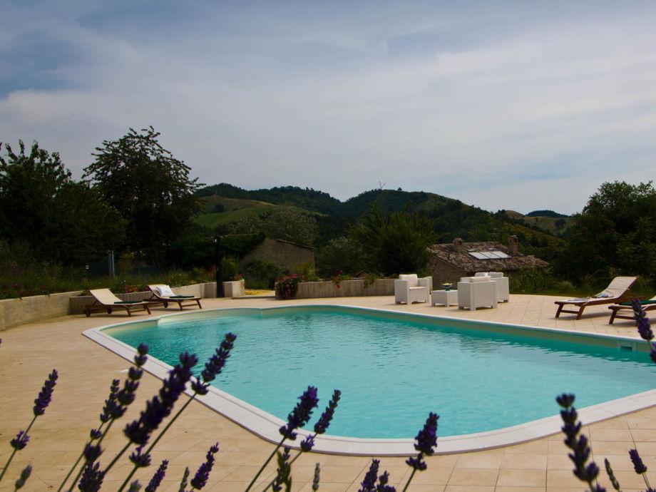 Duca Federico - shared swimming pool