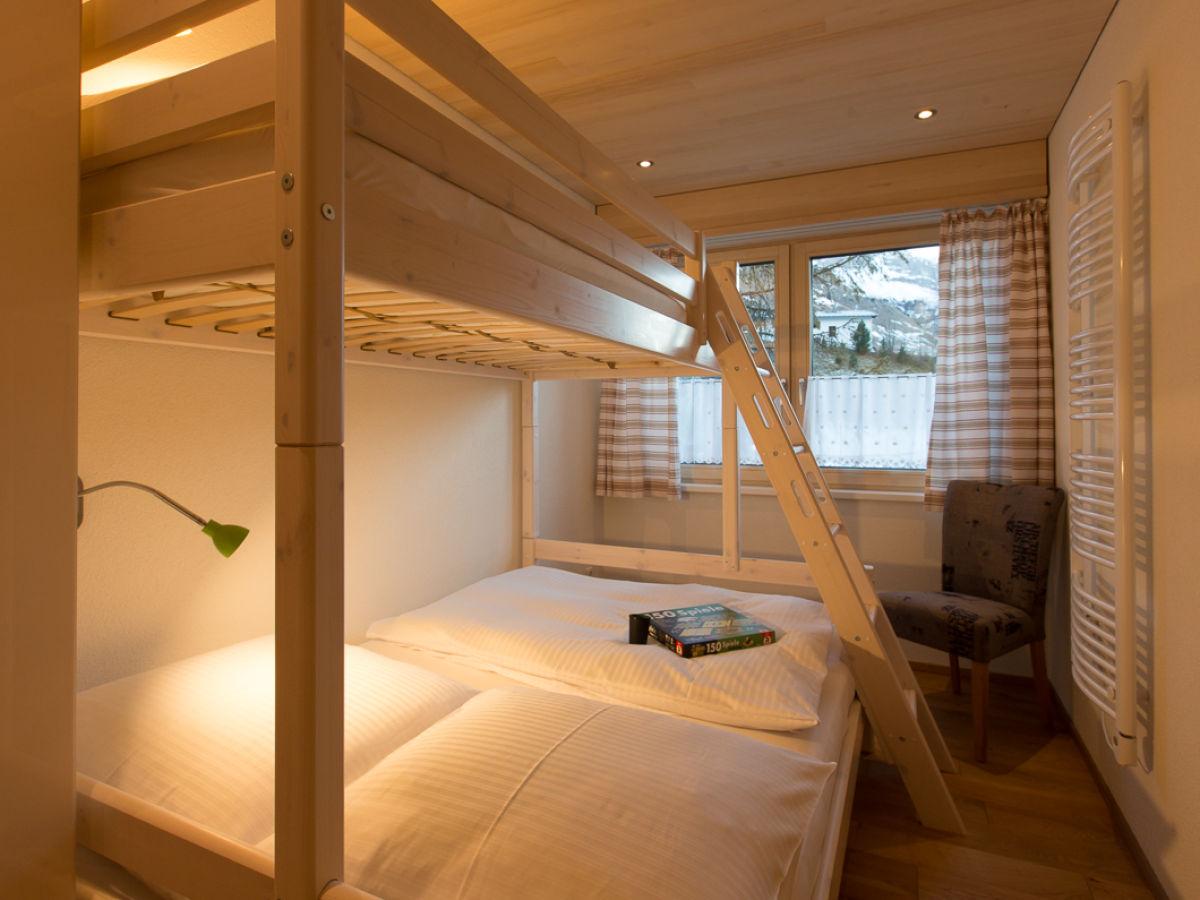 Apartment seebachsee warth firma alpenappartement for Jugendzimmer stockbett