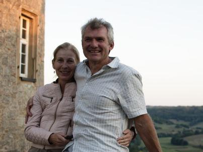Ihr Gastgeber Thomas und Brigitte Spirk