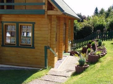 Ferienwohnung Der Fuchsbau - Blockhaus 2