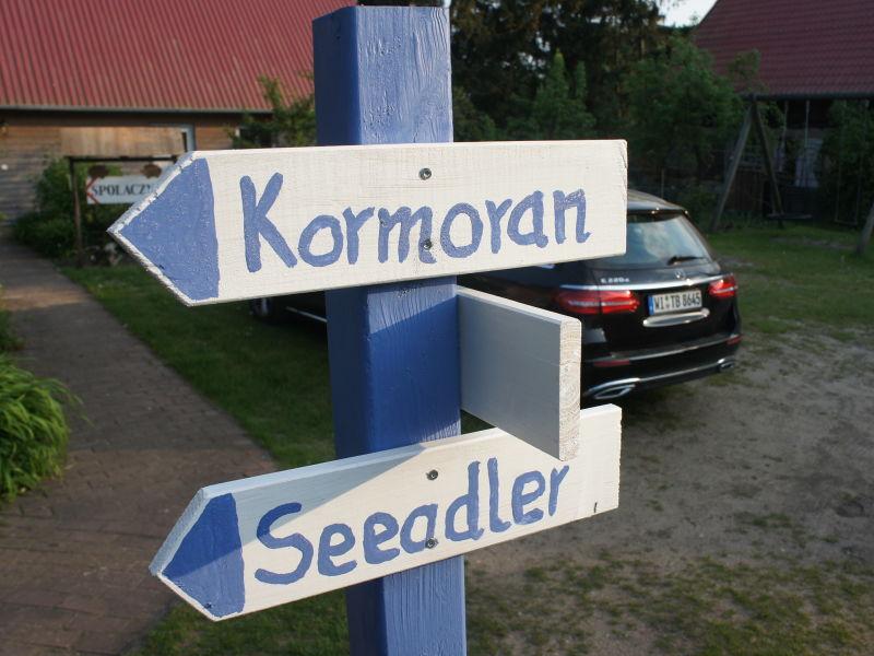"""Holiday apartment """"Kormoran""""."""