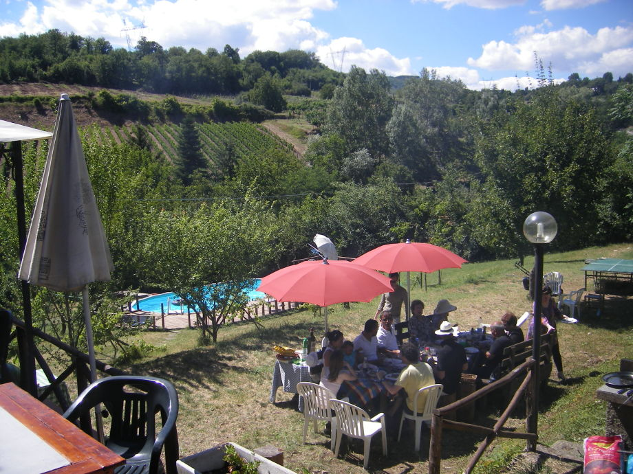 Ferienhaus terzilio greve in chianti toskana firma for Garten pool party