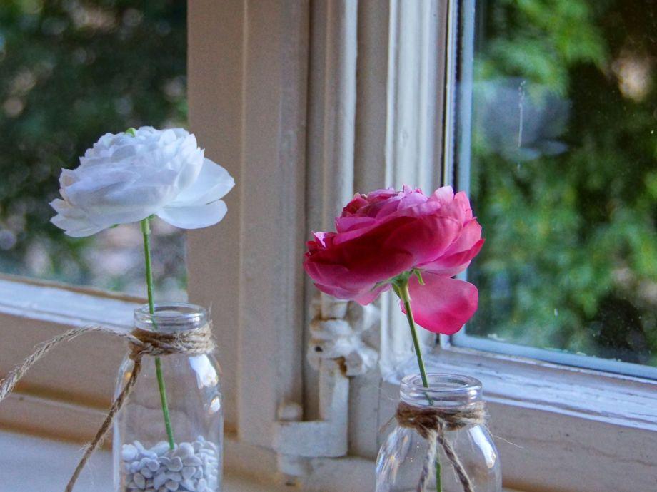 Fensterbank in der Wohnküche