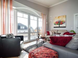 """Ferienwohnung 3-Zi-Penthouse """"Wellnessrefugium"""" in Top-Citylage"""